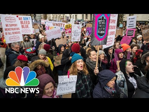 Women's March Rally Takes Place In Las Vegas | NBC News