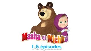 Masha et Michka - Collection 3 (1-5 épisodes) 30 minutes de dessins animés