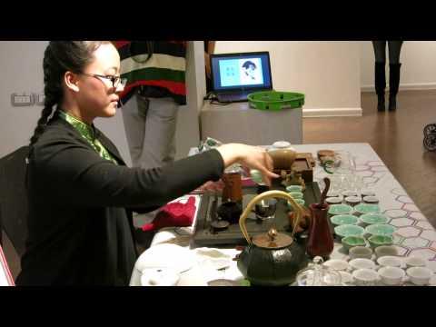 Čajna ceremonija u galeriji O3on