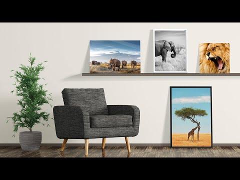 5 conseils pour disposer parfaitement vos tableaux photo