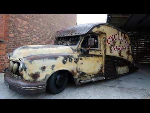 Taxi Transformed Into Rat-Rod In Seven Days | RIDICULOUS RIDES