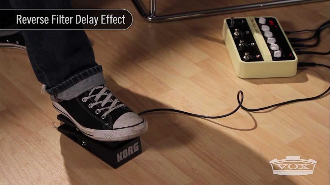 Vox Delay Lab Video
