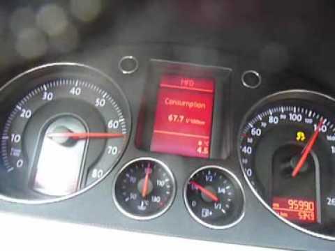 Der Sensor des Lämpchens des Benzins
