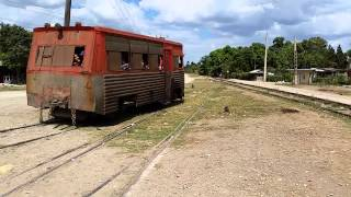 preview picture of video 'Railcar 160 Palma Soriano'