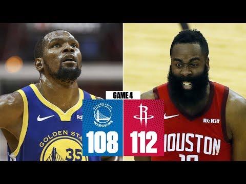 a49388e3b79c James Harden scores 38 as Rockets even series vs. Warriors