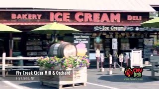 "The Flavors of Central New York: ""Fly Creek Cider Mill & Orchard"""
