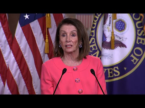 House Speaker Nancy Pelosi is asserting that Attorney General Robert Barr has committed a crime by lying to Congress in his testimony Wednesday to lawmakers about special counsel Robert Mueller's report. (May 2)