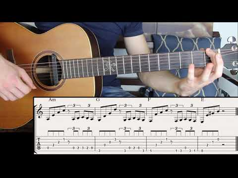 Number One Spanish Chord Progression You must Learn | Fingerstyle Guitar Lesson