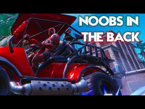 Noobs In The Back!(Fortnite Parody) | Lil Nas X - Old Town Road (I Got The Horses In The Back)