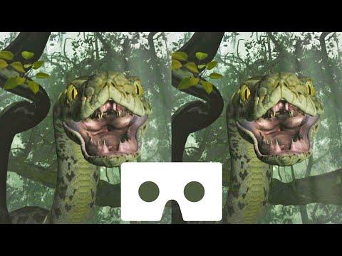 Disney VR video Jungle Book snake 3D SBS Google Cardboard not 360