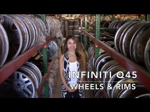 Factory Original Infiniti Q45 Wheels & Infiniti Q45 Rims – OriginalWheels.com