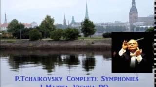 P.Tchaikovsky Complete Symphonies [ L.Maazel Vienna-PO ] (1960~64)