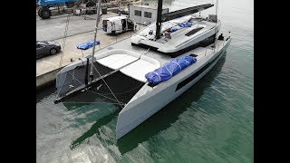 McConaghy MC60 Performance Catamaran Walkthrough w/ Commentary [4K]