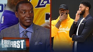 Lakers had 2 great summers adding LeBron and AD - Isiah Thomas   NBA   FIRST THINGS FIRST
