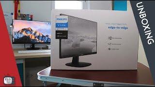 Ein neuer Monitor ? - Phillips 273V Unboxing