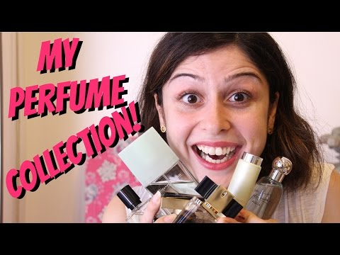 MY PERFUME COLLECTION + GIVEAWAY!!!!
