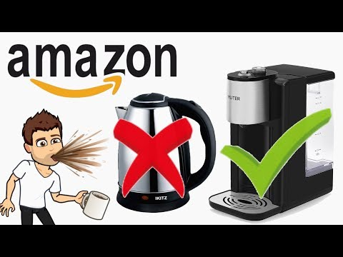 Hot water in 5 seconds! Amazon water dispenser for under £50