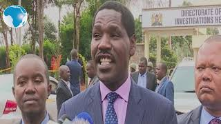 CS Munya takes on DP Ruto over assassination allegations