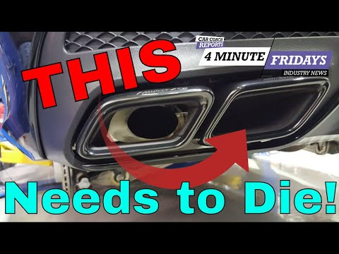 Car Trends That Need To Die | 4 Minute Friday