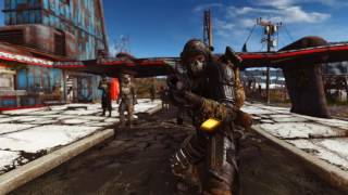 Fallout 4 Mods Crude Blowback-Standalone Weapon