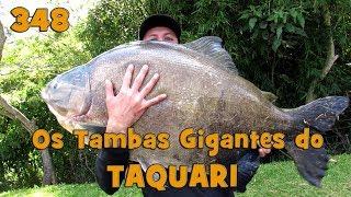 Programa Fishingtur na TV 348 - Centro de Pesca Taquari