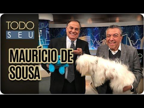 Entrevista com Maurício de Sousa - Todo Seu (17/07/17)