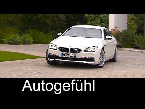 2015/2016 BMW 6 Series Gran Coupé Facelift Driving Exterior Interior - Autogefühl