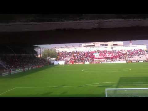 """Recibimiento Toluca vs sao Paulo"" Barra: La Perra Brava • Club: Toluca"