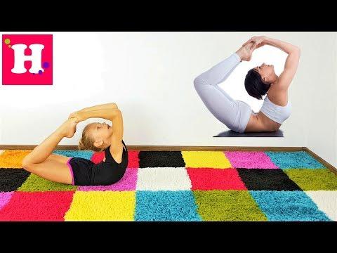 ГИМНАСТИКА ПРОТИВ ЙОГА Новый СУПЕР ЧЕЛЛЕНДЖ // Gymnastic Vs Yoga // New