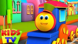 ABC song | abc trains songs | Bob the train | Alphabet adventure | The abc train