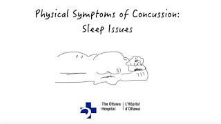 Physical Symptoms of Concussion: Sleep Issues