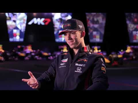 Q&A with Pierre Gasly at 2019 Red Bull launch