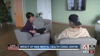 New KC mental health crisis center is 'better option than jail or ER'