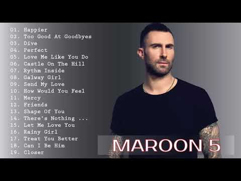 Maroon 5, Ed Sheeran, Taylor Swift, Adele, Sam Smith, Shawn Mendes | Best English Songs 2019