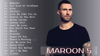 Video Maroon 5, Ed Sheeran, Taylor Swift, Adele, Sam Smith, Shawn Mendes | Best English Songs 2019 MP3, 3GP, MP4, WEBM, AVI, FLV Agustus 2019