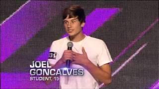 Joel Goncalves - Auditions - The X Factor Australia 2012 night 2 [FULL]