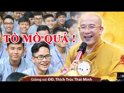 Thầy Thích Trúc Thái Minh Chùa Ba Vàng kể chuyện Sư Thầy Đi Tu ĐOẠN DỤC SUÝT THÀNH THÁI GIÁM