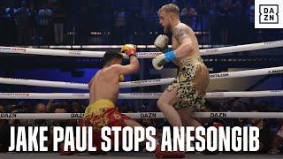 Jake Paul Defeats AnEsonGib Via First-Round Stoppage