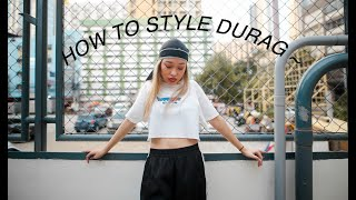 SHOOT DAY With RAGS.PH  ♡ (how To Style Durag)   Girlie San
