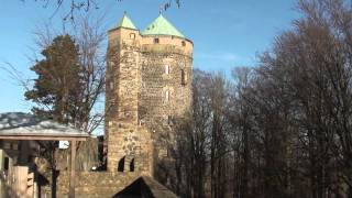preview picture of video 'Deutschland - Burg Stolpen'