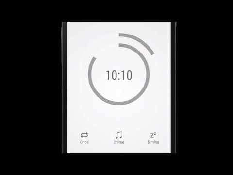 Video of Alarmone -alarm clock/calendar