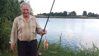 Ловля рыбы на поплавок с кормушкой