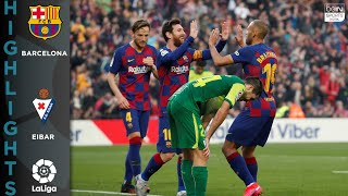 FC Barcelona 5-0 Eibar - HIGHLIGHTS & GOALS - 2/22/2020
