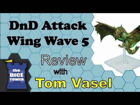 DnD Attack Wing Wave 5 Review