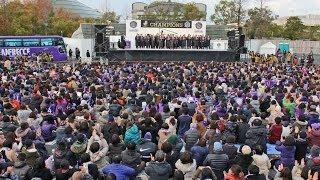 サンフレッチェ広島、優勝報告会 2013 ダイジェスト