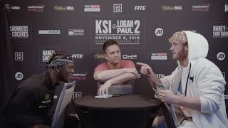 FACE TO FACE | KSI vs Logan Paul 2