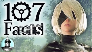 107 NieR Automata Facts YOU Should Know! | The Leaderboard