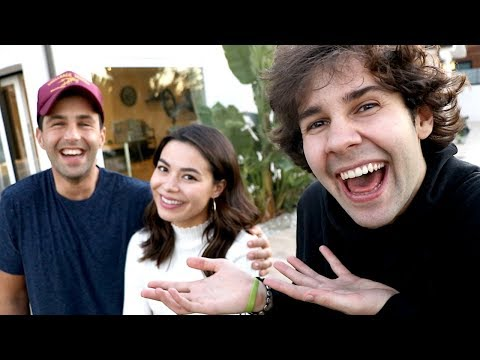 SURPRISING JOSH PECK WITH MIRANDA COSGROVE!! (видео)