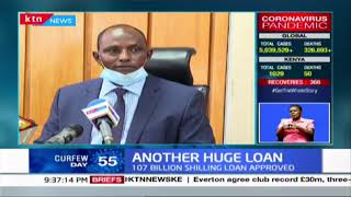 Another Huge Loan: 107 Billion loan approved as Treasury formulates stimulus package