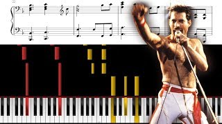 we are the champions piano sheet music with lyrics - TH-Clip